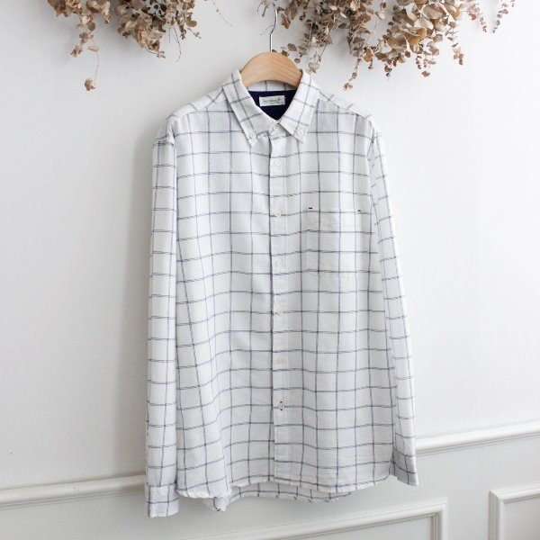 FREE NATURE _ LINEN BLEND SHIRTS