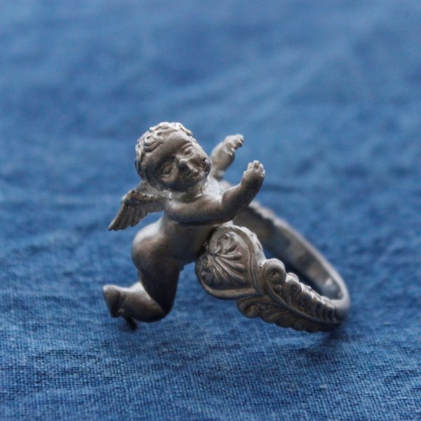 BABY ANGEL 925 SILVER RING