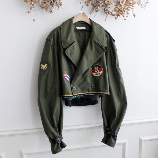 MARILYN MILITARY REMAKE JACKET