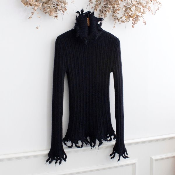 JEAN PAUL GAULTIER _ ANGORA & WOOL KNIT