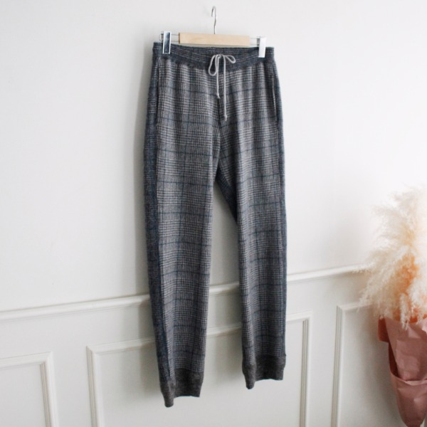 FILMELANGE _ COLIN 100% WOOL KNIT PANTS
