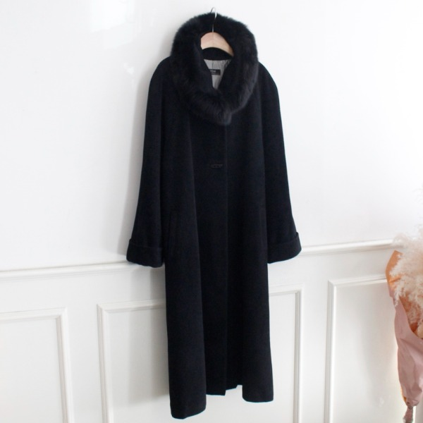 ITEM _ ANGORA LONG COAT