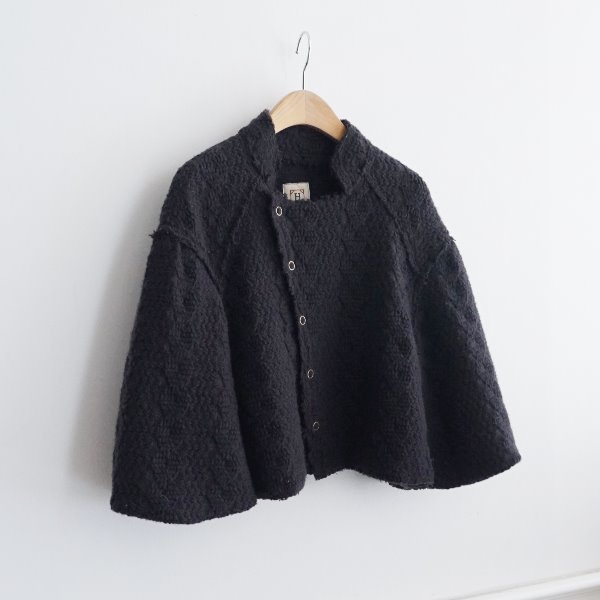 HEMWORK _ 100% WOOL KNIT JKT