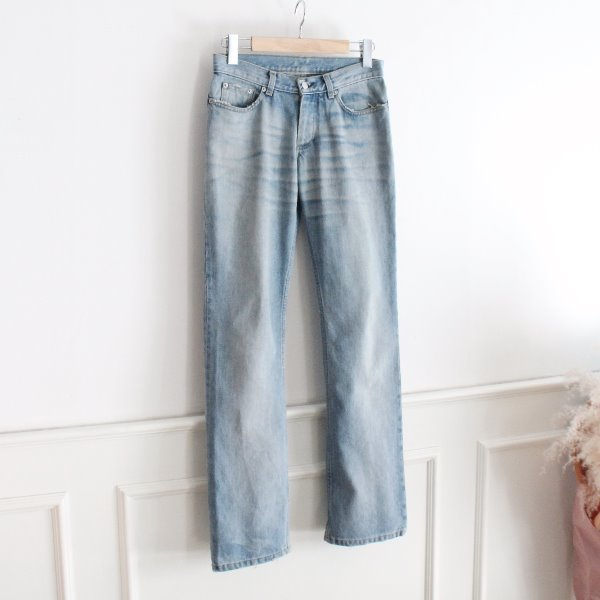 HELMUT LANG 2004 VINTAGE CLEAN BROKEN DENIM