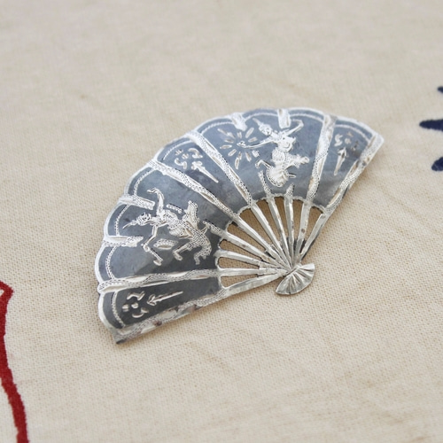 SIAM STERLING SILVER BROACH