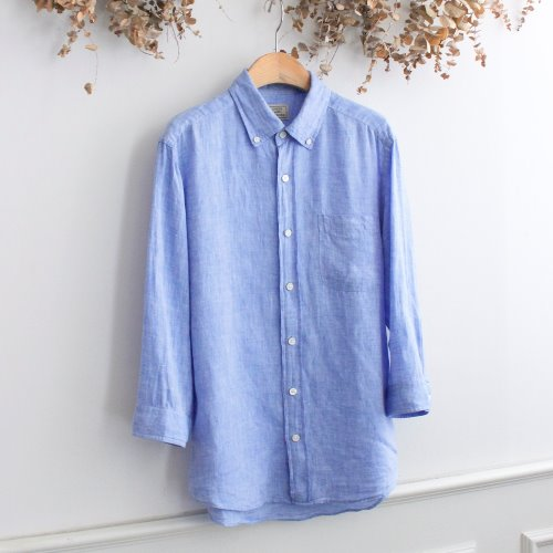 GREEN LABEL RELAXING by UNITED ARROWS _ LINEN 100% SHIRTS
