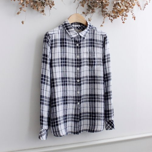 UNITED ARROWS _ LINEN 100% SHIRTS