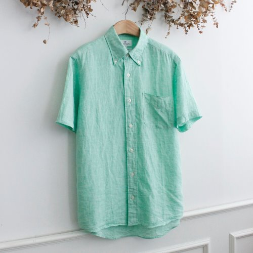 SEED+SOIL _ FRANCH LINEN 100% SHIRTS