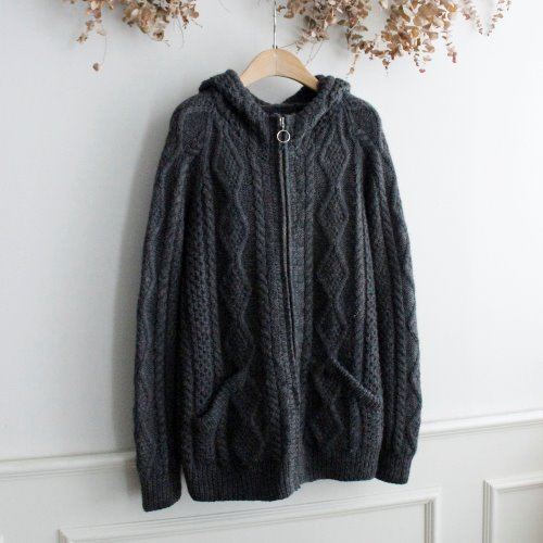 MONOGRAM x GRKT by GARAKUTA BOEKI _ WOOL 100%KNIT