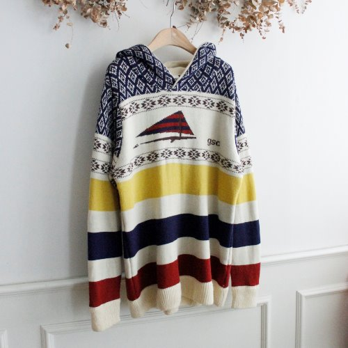 GO SLOW CARAVAN _ WOOL BLEND KNIT