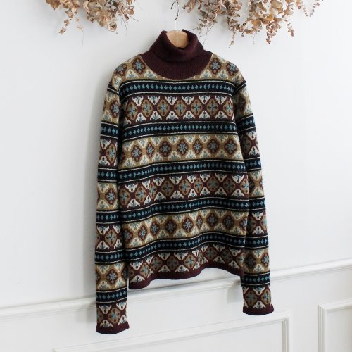 JEAN PAUL GAULTIER _ WOOL 100% KNIT