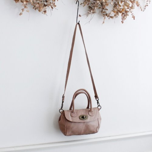 WHITEIN8 _ HANDMADE IN ITALY MINI LEATHER BAG