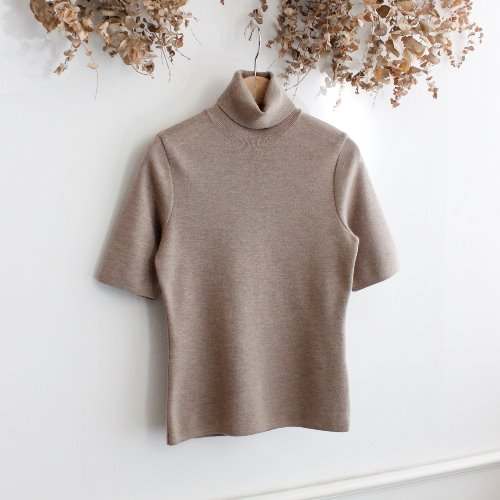 THE GINZA by BP STUDIO _ LANA MERINO WOOL KNIT