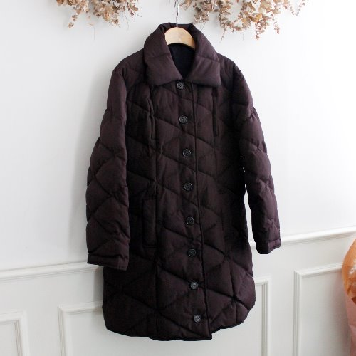 MISS ALICE _ DUCKDOWN REVERSIBLE COAT