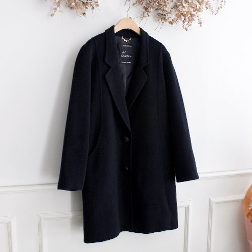 DEL GIARDINO _ CASHMERE BLEND HADE MADE COAT