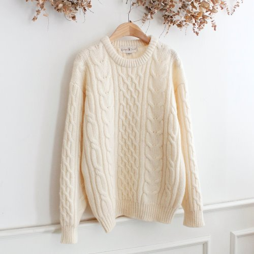 BUTTER FIELD _ WOOL 100% KNIT