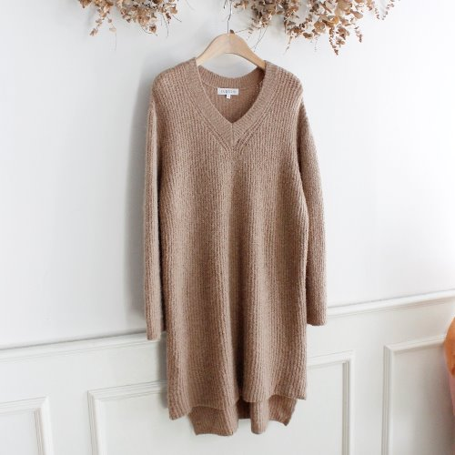 CLOSSHI _ ALPACA & WOOL BLAND KNIT OPC