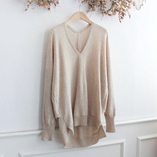 DISCOAT _ WOOL KNIT