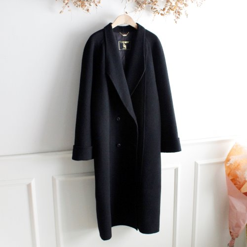 CITY ELEGANCE _ CASHMERE BLEND HANDMADE COAT