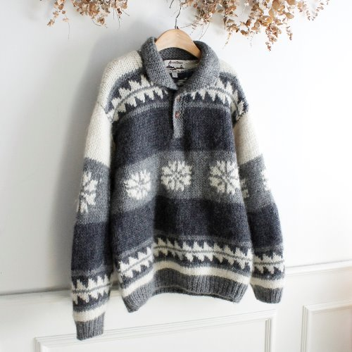 ANCESTRESS _ HEAVY WOOL 100% KNIT