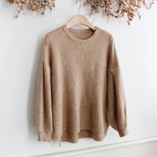 IEDIT _ WOOL BLEND KNIT