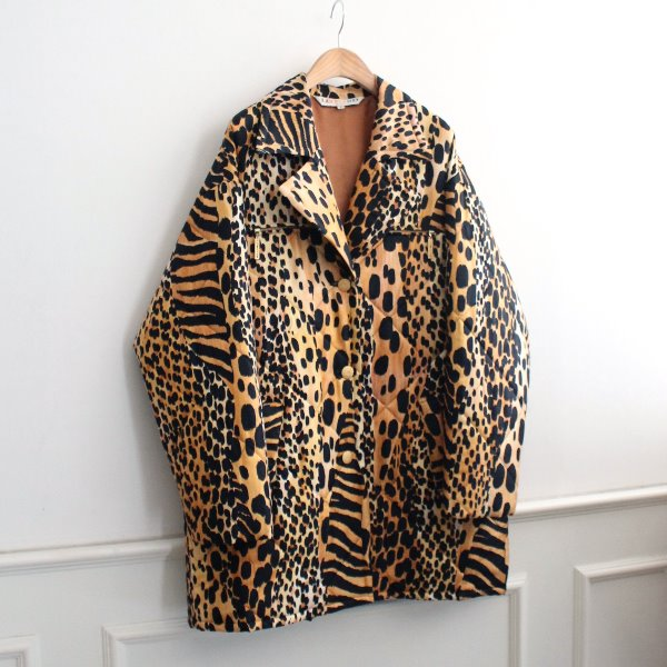 LEONARD _ 100% SILK PADDING COAT